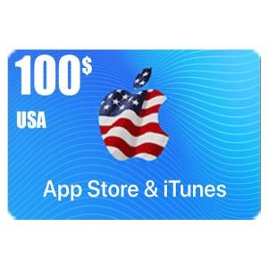 بطاقة أيتونز 100 دولار للستور الأمريكي