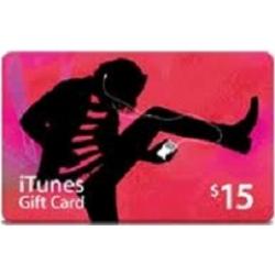 iTunes - بطاقة 15$