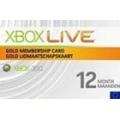 اشتراك ذهبي 12 شهر XBOX LIVE (امريكي/اوربي)