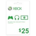 Xbox Live $25 Gift Card (امريكي)