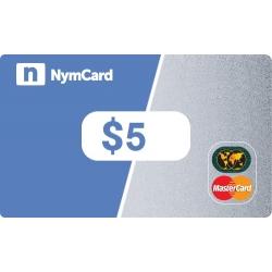 بطاقة ماستركارد افتراضية - 5 دولار