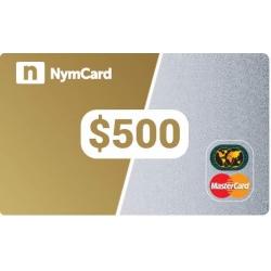 بطاقة ماستركارد افتراضية - 500 دولار