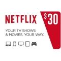 NetFlix للحساب الامريكي - 30 دولار