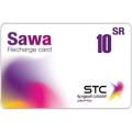 بطاقة شحن سوا - 10 ريال