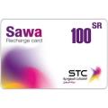 بطاقة شحن سوا - 100 ريال