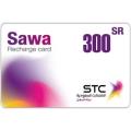 بطاقة شحن سوا - 300 ريال