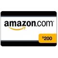 بطاقة شراء من موقع امازون بقيمة 200 دولار
