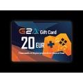 G2A -  بطاقة 20 يورو
