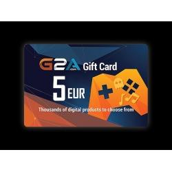G2A - بطاقة 5 يورو
