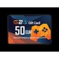 G2A -  بطاقة 50 يورو