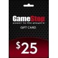 GameStop - بطاقة بقيمة 25 دولار