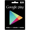 Google Play - بطاقة 25 دولار