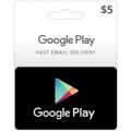 Google Play - بطاقة 5 دولار