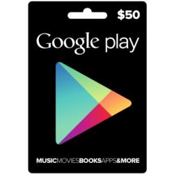 Google Play - بطاقة 50 دولار