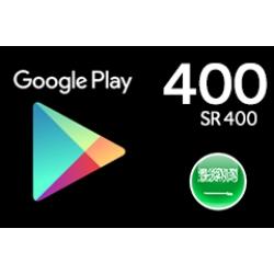 جوجل بلاي 400 ريال (المتجر السعودي)