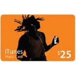 iTunes - بطاقة 25$