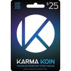 $25 Karma Koin Gift Card