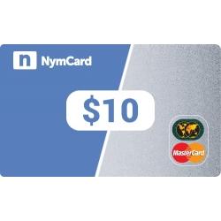 بطاقة ماستركارد افتراضية - 10 دولار
