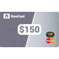 بطاقة ماستركارد افتراضية - 150 دولار