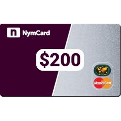 بطاقة ماستركارد افتراضية - 200 دولار
