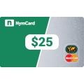 بطاقة ماستركارد افتراضية - 25 دولار