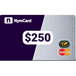 بطاقة ماستركارد افتراضية - 250 دولار