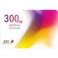 بطاقة كويك نت 300 جيجا - 3شهور