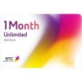 بطاقة كويك نت -غير محدودة- لمدة 1 شهر