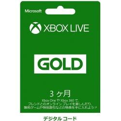 XBOX  اشتراك ذهبي ثلاثة شهور - الستور الياباني