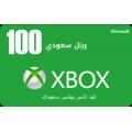 بطاقة إكس بوكس -- 100 ريال (المتجر السعودي)