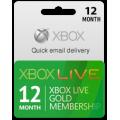اشتراك ذهبي 12 اشهر XBOX LIVE (امريكي)