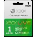 XBOX اشتراك ذهبي لمدة شهر (امريكي)
