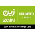 بطاقة اعادة شحن بيانات زين 10 جيجا - 3 شهور